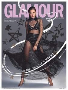 """Gal Gadot Sulla Copertina Del Giornale """" Glamour """""""