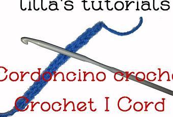 Come Fare Un Cordoncino Tubolare Con Luncinetto Diy Crochet I