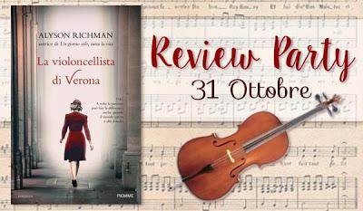 Review Party: La violoncellista di Verona di Alyson Richman