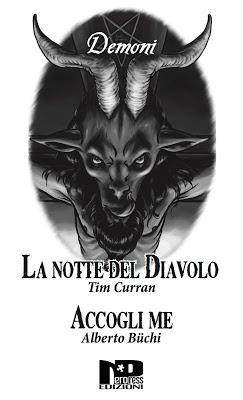 SEGNALAZIONE - Demoni di Alberto Büchi e Tim Curran | Nero Press Edizioni