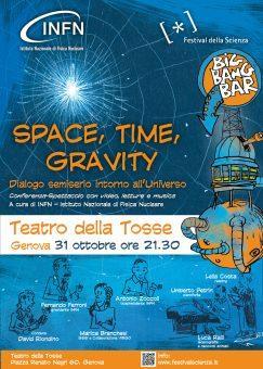 Spazio, tempo e gravità a Genova