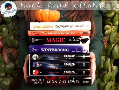 Book Haul #9: il mio bottino libroso di ottobre!