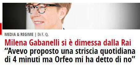 """Il cammino dei perplessi (1) – Se l'indipendentista Puigdemont latita e fa il coniglio e IL FATTO QUOTIDIANO e Floris fanno campagna per la Gabanelli che rifiuta """"Report"""""""