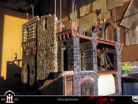 Costruzione 221: Porta del salone (1) - la muratura