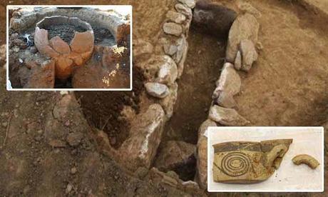 Sepoltura del 1500 a.C. a Platamona, Grecia