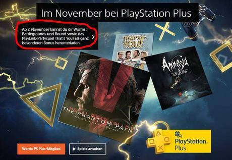 Worms Battlegrounds e Bound nella line-up di novembre di PlayStation Plus? - Notizia - PS4