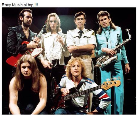 Roxy Music: accadde il 1 novembre 1973