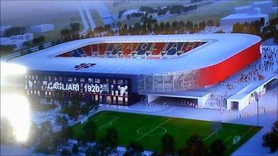 Nuovo stadio del Cagliari, entro il 20 novembre le proposte complete per lo studio di progettazione esecutiva del nuovo impianto