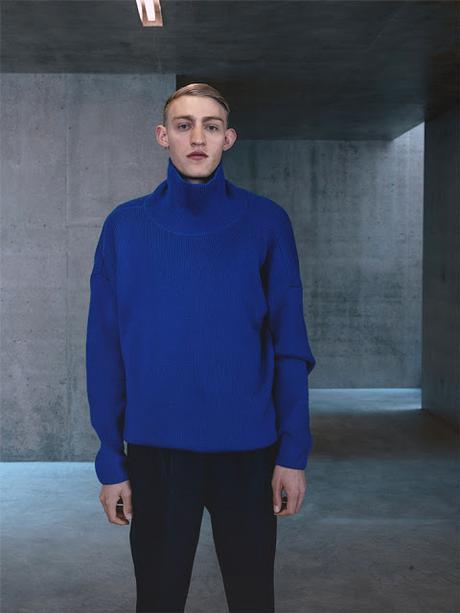 Blue capsule collection _ AMI Alexandre Mattiussi