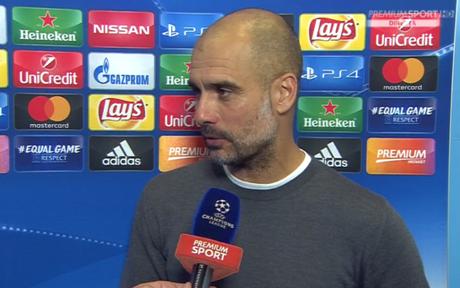 """Guardiola: """"Innamorato del Napoli, che impresa batterlo. E' la squadra più forte che…"""""""