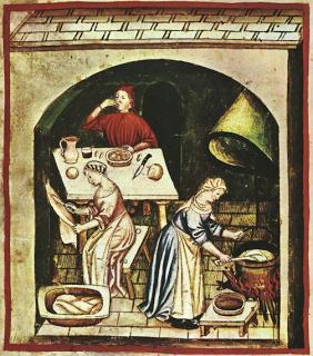 Sulla tavola a San Martino ieri e oggi maiale, manzo, oca e vino