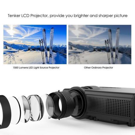 Il proiettore TENKER Q5 Mini in promozione su Amazon Italia a 69,99 euro