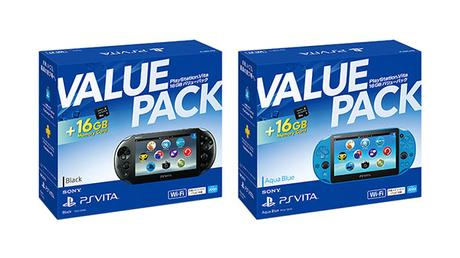 Ultimo giro per PlayStation Vita in Giappone: annunciato un Value Pack con memory card da 16 GB - Notizia