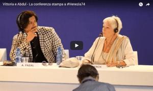 Vittoria e Abdul – La conferenza stampa a #Venezia74