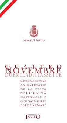 Il quattro novembre nel ricordo di Caporetto
