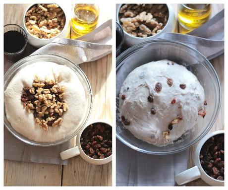 Preparazione pan coi santi 2