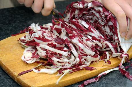 Torta salata al radicchio Trevigiano