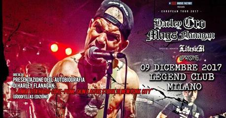 Harley Flanagan a Milano il 9 dicembre (presentazione libro e concerto)