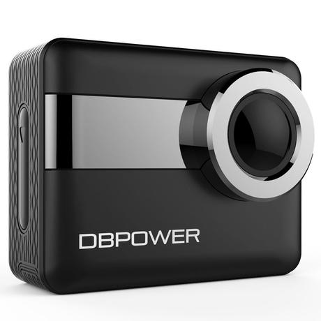 L'Action Camera 4K DBPOWER disponibile su Amazon a 75,99 euro