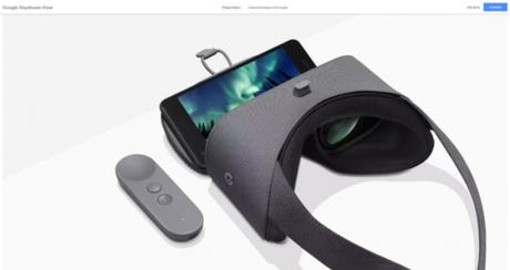 Il Daydream View di Google è disponibile sul Google Store italiano