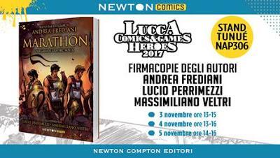 Novità Newton Compton Editori in uscita oggi + appuntameti al Lucca Comics & Games 2017