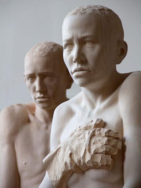 Le sculture di legno di Mario Dilitz