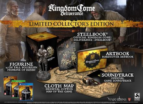 Annunciate la Limited Collectors Edition e la Special Edition di Kingdom Come: Deliverance - Notizia - PC