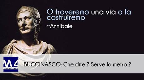 #Buccinasco – Comitato Civico #M4 – AD INIZIO 2018 AVREMO FINALMENTE I PRIMI RISULTATI DELLO STUDIO DI FATTIBILITA'