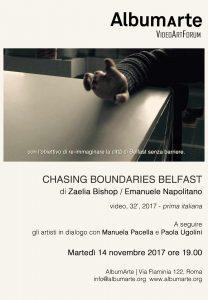 'Chasing Boundaries Belfast' di Zaelia Bishop ed Emanuele Napolitano