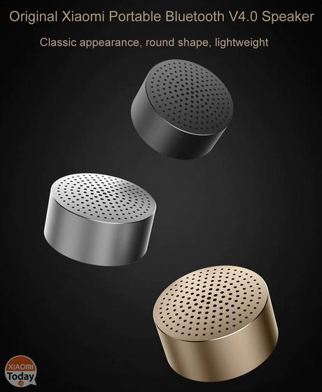 [Codice Sconto] Xiaomi Mi Speaker Bluetooth 4.0 a 7.7€