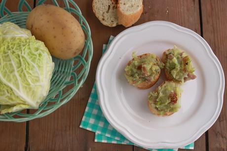 Verza, patate e salsicca la mia cucina marchigiana