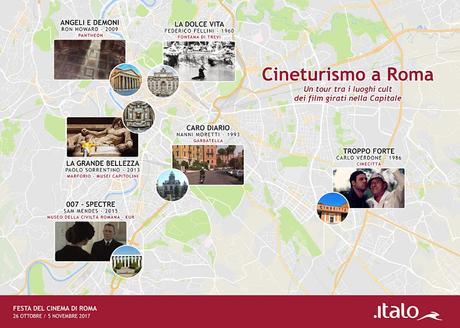 Alla Festa del Cinema di Roma con Italo
