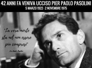 42 VENIVA UCCISO PIER PAOLO PASOLINI