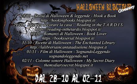 Blogtour + mega giveawey di Halloween