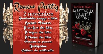 Review Tour: La battaglia delle tre corone di Kendare Blake