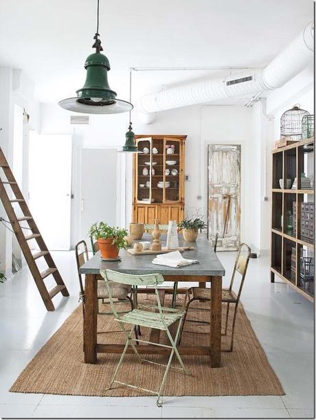casa-loft-stile-boho-chic- industriale (10)