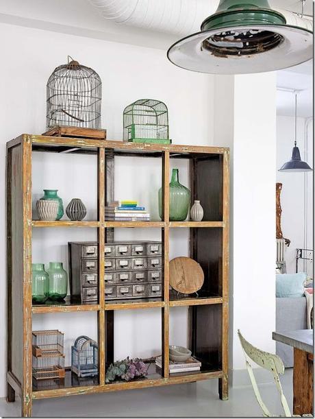 casa-loft-stile-boho-chic- industriale (5)