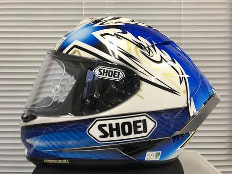 Shoei X-Spirit III K.Nozane Motegi 2017