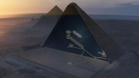 NEWS: Scoperta una stanza segreta nella piramide di Cheope