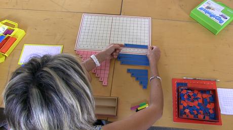 La matematica  sensoriale del metodo Montessori (video)