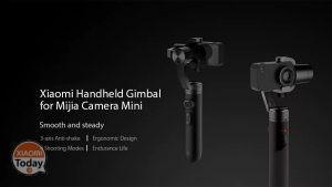 [Codice Sconto] Stabilizzatore per Fotocamera Xiaomi a 3 Assi a 111€ Spedizione e Dogana Incluse