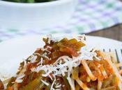 Spaghetti senza glutine sugo fagiolini cacioricotta