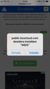 Come installare iNDS su iPhone e iPad