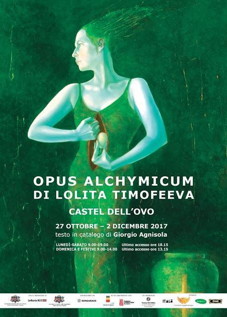 Castel dell'Ovo di Napoli ospita l'esposizione Opus Alchymicum di Lolita Timofeeva
