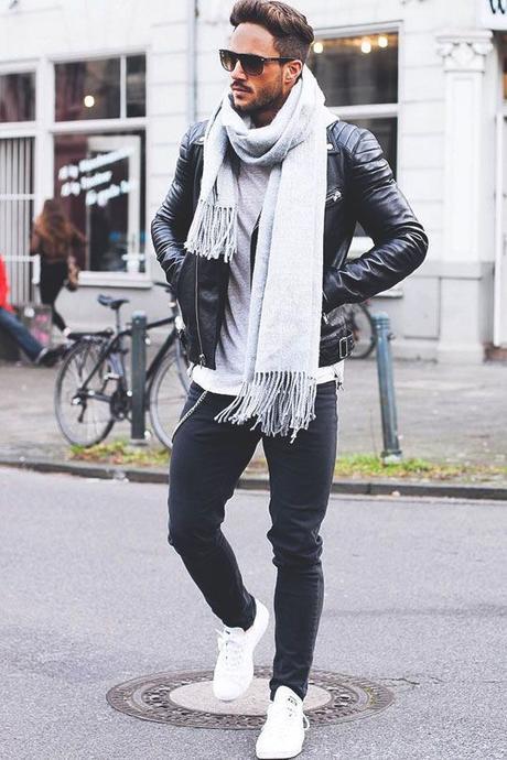 Moda uomo: i miei modi preferiti di indossare una sciarpa 1