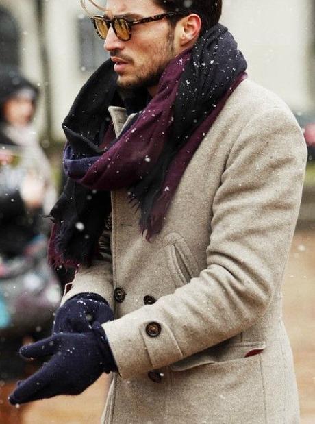 Moda uomo: i miei modi preferiti di indossare una sciarpa 4