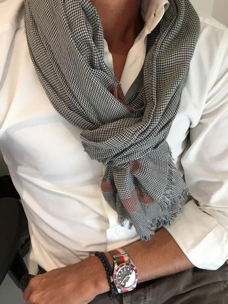 Moda uomo: i miei modi preferiti di indossare una sciarpa 3