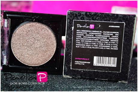 eyeshadow ombretti paolaP doll house  benjamine inci