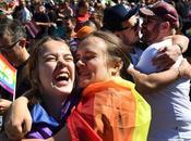 L'Australia votato favore matrimoni referendum corrispondenza