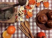 Dolcetti alle pere gocce cioccolato scorzette mandarino essiccate